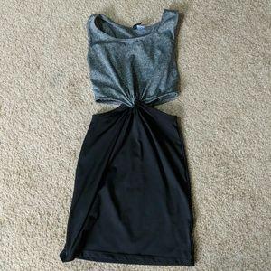 Cutout mini dress
